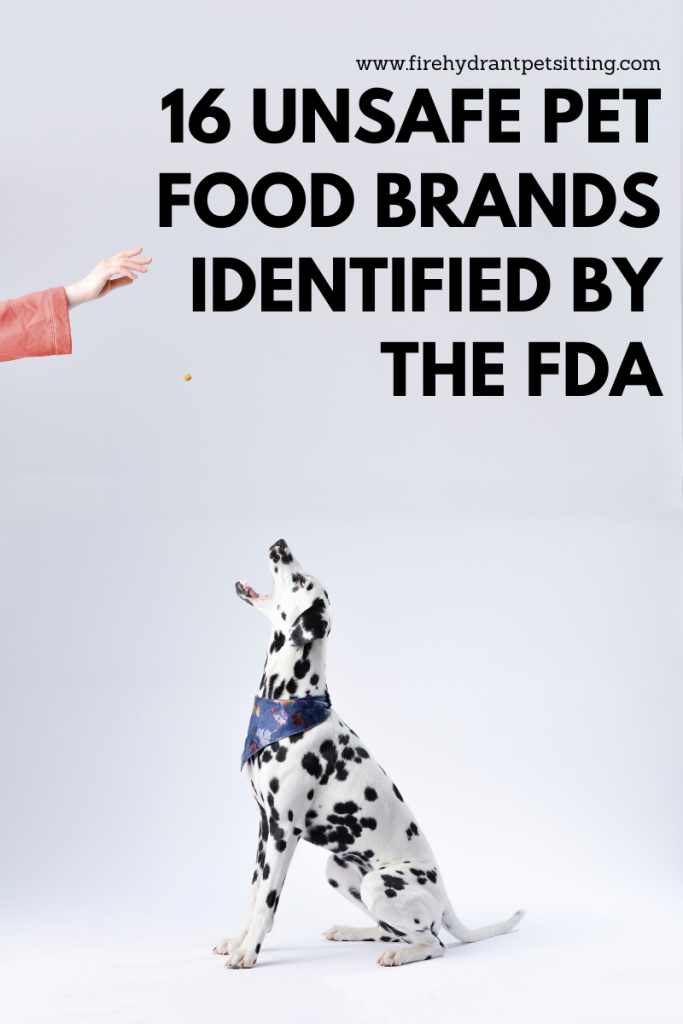 16 Unsafe Pet Food Brands Identified by the FDA